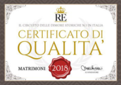 Awards Antico Forziere Hotel & SPA Deruta -Perugia