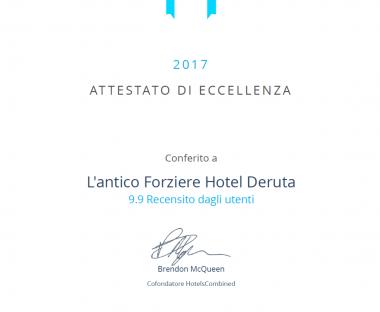 Premi e Riconoscimenti Antico Forziere Hotel & SPA