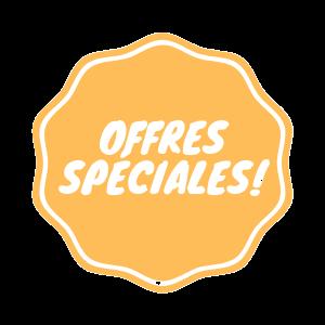 Offres speciales